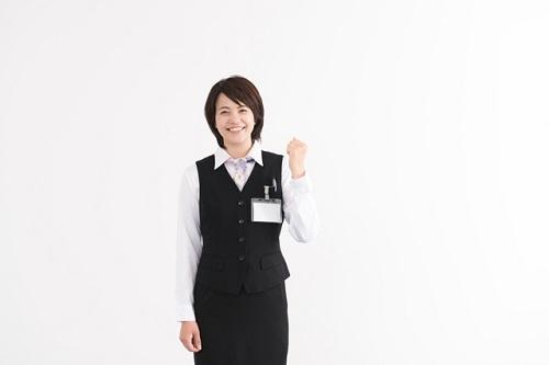 事務員の女性